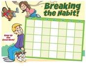 Kids breaking habit chart